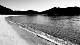 Sunset at Bark Bay (Abel Tasman)