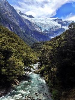 Epic View of Rob Roy Glacier