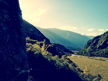Viewpoint from Climb at Tombstone Crag (Wanaka)