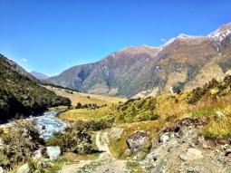 Beginning of Rob Roy Glacier Hike