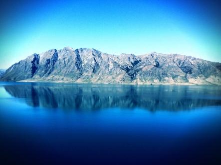 Viewpoint at Lake Hawea
