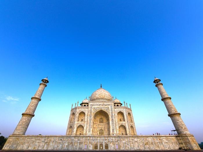 Taj Mahal Super Wide super Sat HDR