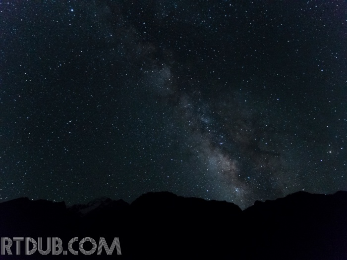 Nepal-Milky Way Over Ganesh